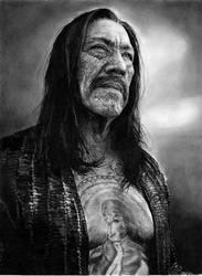 Danny Trejo - Machete by IrisBouman