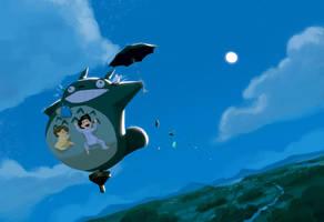 Totoro by PunchingPandas
