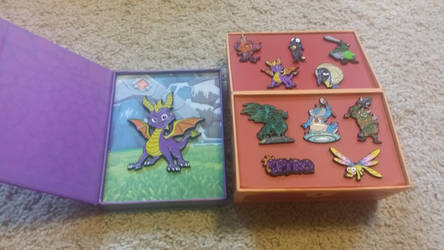 Spyro pin collection! by Crush40Queen