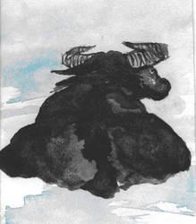 Waterbuffalo by jimmylorunning