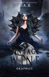 Vintage Wine - Wattpad Cover 2 by Auberginenqueen
