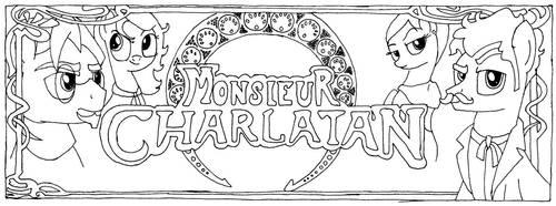 Monseiur Charlatan: Banner by AmaliaPond
