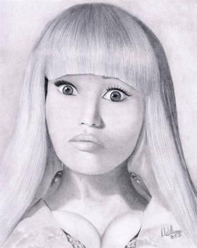 Nicki Minaj by Un-Willing
