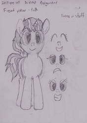 Sketch | Treble Sketch (front view) by ILM126