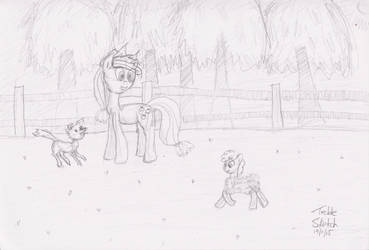 Herding Our Only Sheep by ILM126