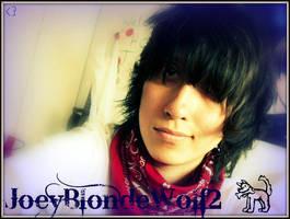 JoeyBlondeWolf2 :p by Anko-1390