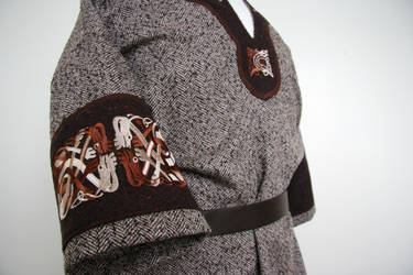 cream brown  tunic DC by martin-gill
