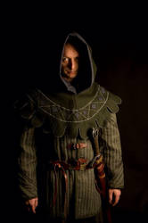 Medieval Hood and Gambesson by martin-gill