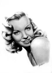 Marilyn Monroe Study by gavinodonnell