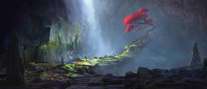 Sacred Oak by gavinodonnell