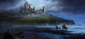Dark Knights by gavinodonnell