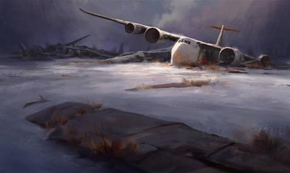 Airplane Graveyard by gavinodonnell