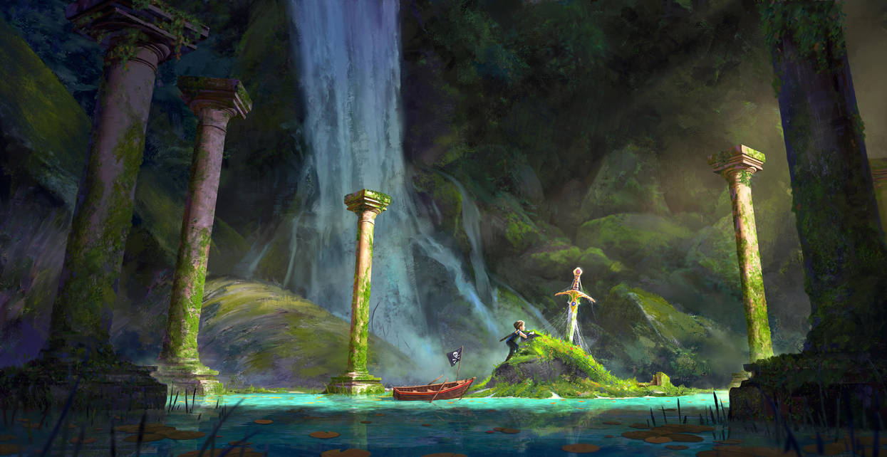 The Sword in the Stone by gavinodonnell