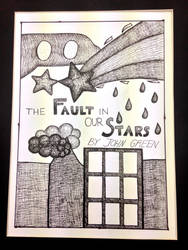 'The Fault in Our Stars' Cover Illustration by eembuc1000