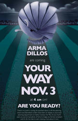Armadillos Are Coming Your Way by operationpfw