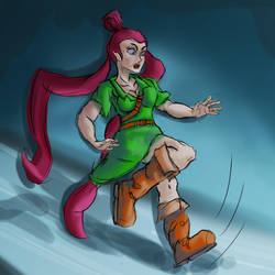 Link Fairy TF TG by undeadpenguin37
