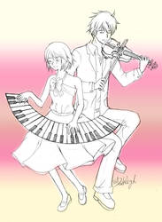 Nodame Cantabile by Dark-Angel-san
