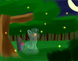Night of the Fireflies by AeonOfDreams