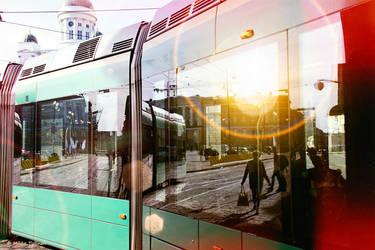 Evening Helsinki by Mishelangello
