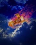 Falling Through Time by andikatama