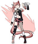[OPEN] Punk Pink Adopt by PK-adopts