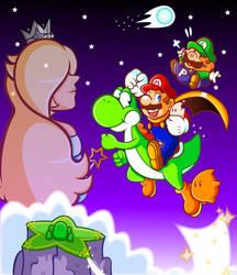 Remake: New Universe, New Mario World by JamesmanTheRegenold