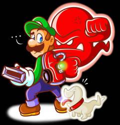 Luigi's Mansion: Dark Moon by JamesmanTheRegenold