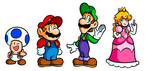 Golly Gang of Mario Misfits by JamesmanTheRegenold
