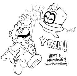 Cappy's 1st Anniversary by JamesmanTheRegenold