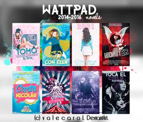 Wattpad  2014-2016 by valecarol