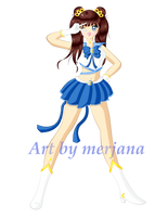 [Contest] Sailor Crystal Moon - YumeHimura by merjana