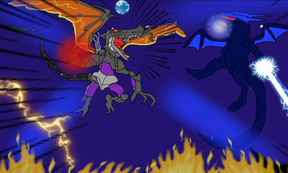Omega Ridley vs OmegaRapty edited by firebird97