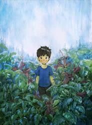 Rain Boy by Moonshen