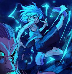 Blue assasin by Moonshen