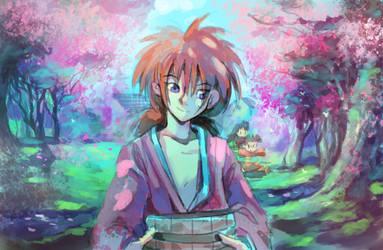 Peaceful Rurouni by Moonshen
