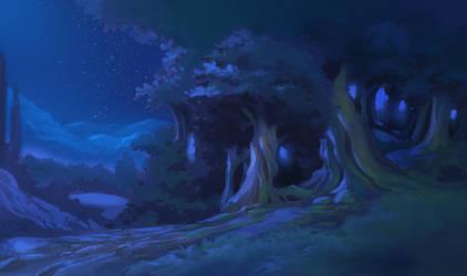 Night Backgroud by Moonshen
