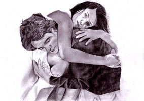 Edward and Bella I by BriskytheSovietSpy