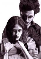Edward and Bella II by BriskytheSovietSpy