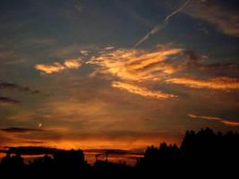 Golden Sunset by BriskytheSovietSpy