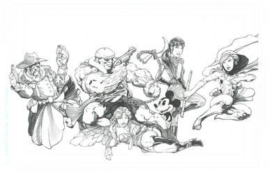 Hero char inks, Unfinished by VARAKIENEN
