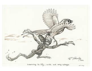 NB Learning to fly by VARAKIENEN
