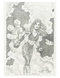 X-23 Doodle by VARAKIENEN