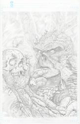 Swamp Thing. by VARAKIENEN