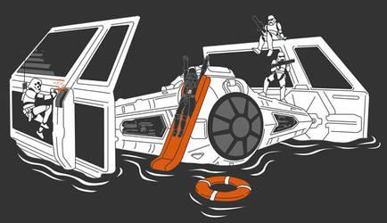 Sith Abandon Ship by cova