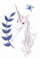 The last Unicorn - Butterfly by thelastunicorn