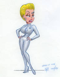 Seven of Nine design study by SFToon