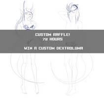 Custom Dextroluma Raffle: CLOSED WINNER ANNOUNCED! by Lunathyst