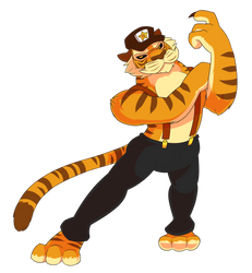 Anthony Tiger by Tomthebaker