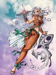Aura Ayla: Summoner by Tsuzukikun