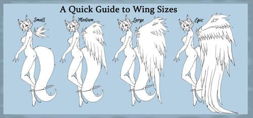 Kamitsune Wing Sizes by Tsuzukikun